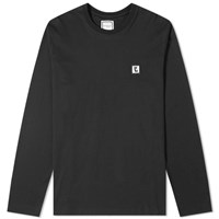 Wooyoungmi Long Sleeve Back Logo Tee Black
