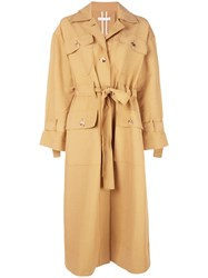 Rejina Pyo Ava Trench Coat Brown