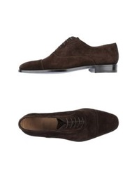 Sutor Mantellassi Lace Up Shoes Cocoa
