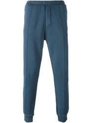 Dsquared2 Washed Accent Track Pants Blue