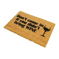 Artsy Doormats Without Wine Door Mat