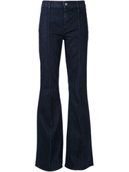 Koral Flared High Waist Jeans Blue