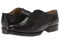 Frye Erin Lug Oxford Black Soft Vintage Leather Women's Lace Up Casual Shoes