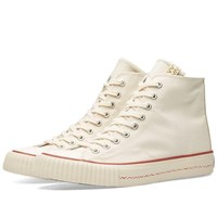 Visvim Skagway Hi Canvas White