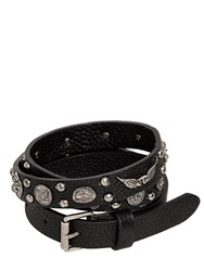 Valentino 20Mm Santeria Studded Leather Belt