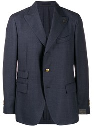 Gabriele Pasini Jet Set Suit Jacket Blue