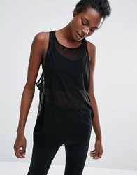 Y.A.S Yas Oversize Tank Top Black