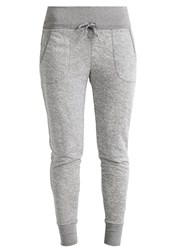 Casall Tracksuit Bottoms Grey Melange Mottled Grey