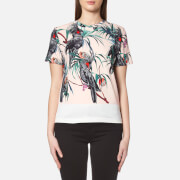 Paul Smith Ps By Women's Cockatoo Crew Neck T Shirt Pink