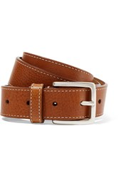 Andersons Anderson's Textured Leather Belt Tan