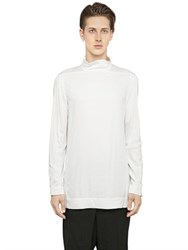 Rick Owens Light Stretch Viscose Shirt