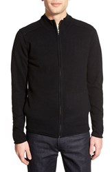 Men's Velvet By Graham And Spencer Full Zip Cashmere Cardigan