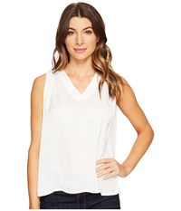 Catherine Malandrino Alison Top Empire White Women's Blouse