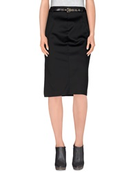 Ice Iceberg 3 4 Length Skirts Black