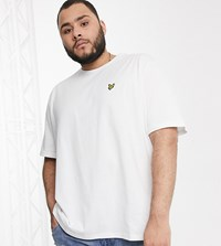 Lyle And Scott Logo T Shirt In White