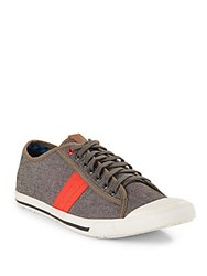 Ben Sherman Lace Up Sneakers Grey