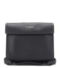 Balenciaga Tool Satchel Xs Leather Tote Black