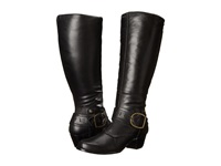 Walking Cradles Clarity Wide Shaft Black Soft Antique Women's Dress Boots