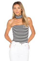 Bailey 44 Stripe Shoot The Tube Top Black And White