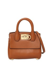 Salvatore Ferragamo The Studio Micro Top Handle Bag Sella