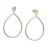 Avinas Jewelry Victorian Earrings Yellow Gold