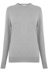 Warehouse Crew Jumper Light Grey