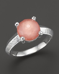 Ippolita Rock Candy Single Stone Ring In Melon Pink