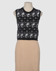 House Of Holland Sleeveless Sweaters Black