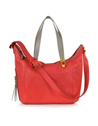 See By Chlo Andrea Coral Grained Leather Handbag