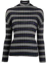 Issey Miyake Pleats Please Micro Pleated Roll Neck Sweater 60