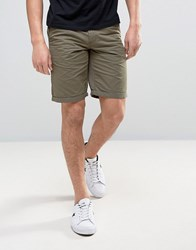 Solid Chino Shorts 3784 Green