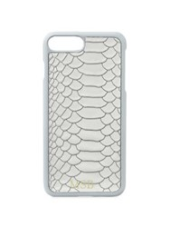 Gigi New York Personalized Python Embossed Leather Iphone 7 Plus Case Oyster