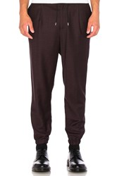 Mcq By Alexander Mcqueen Tailored Trackpant Burgundy