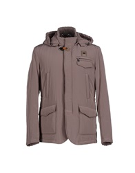 Piero Guidi Jackets Dove Grey