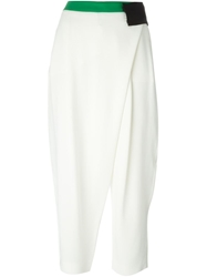 Antonio Marras Short Harem Trousers White
