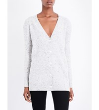 Rag And Bone Tamara Cashmere Cardigan Lt Grey
