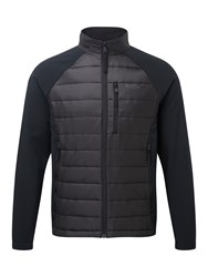 Tog 24 Men's Hewer Mens Tcz Thermal Hybrid Jacket Black