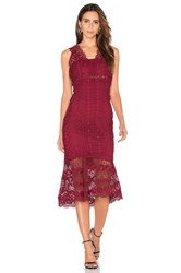 Bardot Odyssey Dress Wine