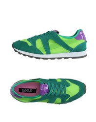 Colors Of California Footwear Low Tops And Trainers Women Acid Green