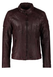 Gipsy Copper Leather Jacket Bordeaux