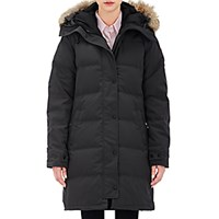 Canada Goose Women's Fur Trimmed Shelburne Parka Dark Grey