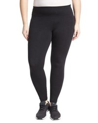Marc Ny Performance Plus Basic Long Cotton Leggings Black