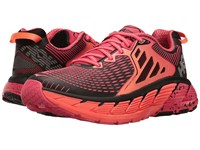 Hoka One One Gaviota Paradise Pink Neon Coral Running Shoes Red