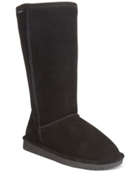 Bearpaw Emma Tall Cold Weather Boots Women's Shoes Black