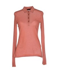 Fred Perry Polo Shirts Rust