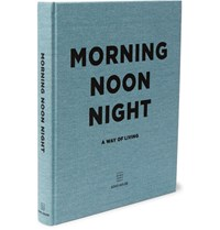 Soho Home Morning Noon Night Hardcover Book Blue