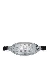 Mcm Fursten Visetos Small Belt Bag Silver