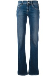 Armani Jeans Soft Flared Blue
