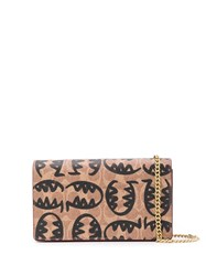 Coach Callie Clutch With Rexy By Guang Yu Brown