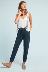 Saturday Sunday Dylan Cropped Joggers Navy